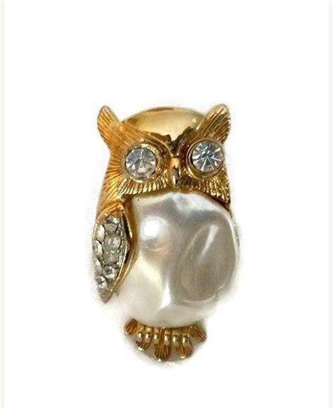 Vintage owl brooch ebay jpg 570x700